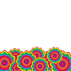 花柄のバックグラウンド