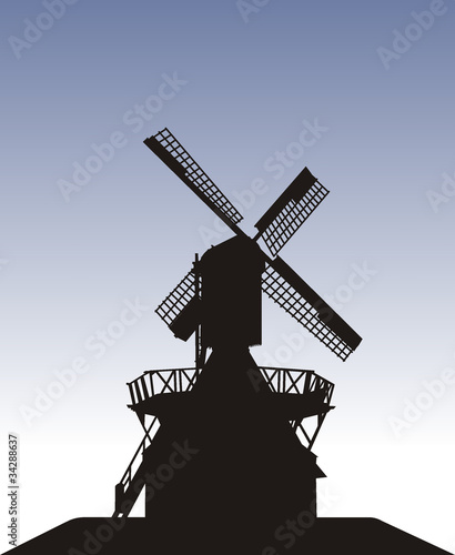 Kokerwindmühle, Mühle