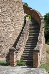 scala per La Rocca a Predappio Alta