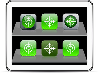 Sight green app icons.