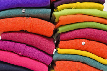 Cashmere Alpaca and Merino wool sweaters