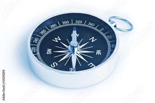 Leinwanddruck Bild Kompass 3