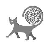 Gato gris poster