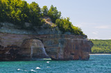 Rock arches and sea caves poster