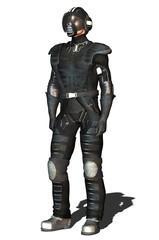 space fighter pilot black