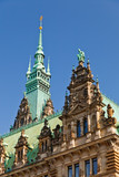 Town Hall in Hamburg