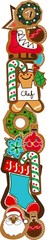 l gingerbread alphabet patch