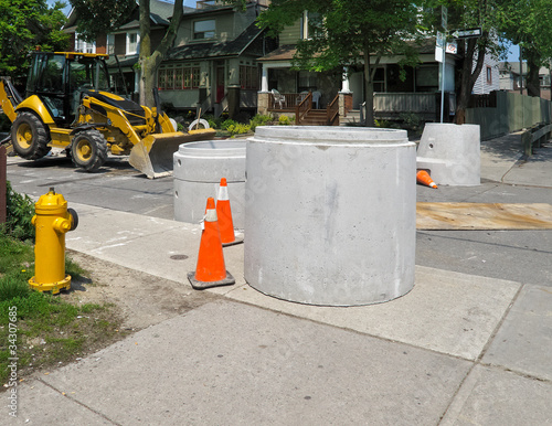 Concrete Sewer