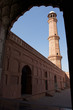 Red tower of Lahore mosque