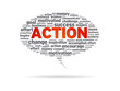 Speech Bubble - Action