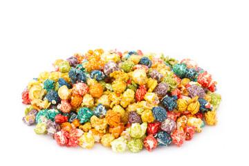 caramel colorful popcorn