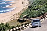 Fototapety Camper van on the road