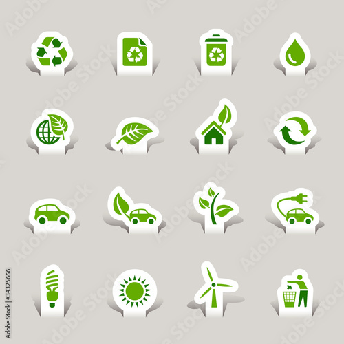 Papercut - Ecological Icons