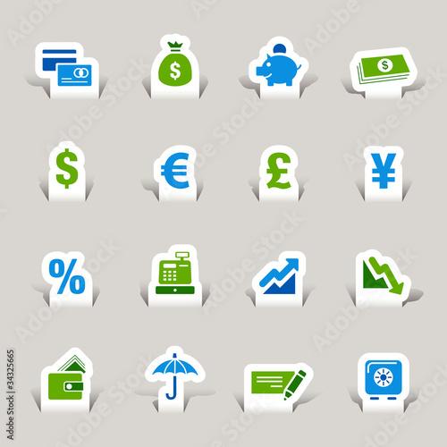 Papercut - Finance icons