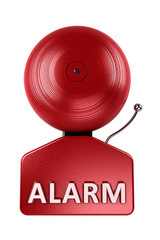 Alarm Bell isolated over white background
