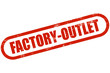 Grunge Stempel rot FACTORY-OUTLET