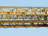 detail of harbor crane