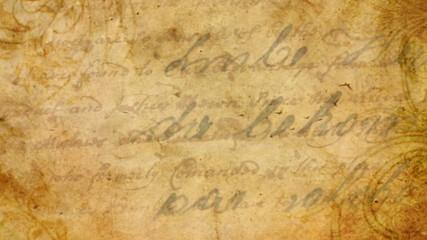 Vintage letter seamless backgroundt