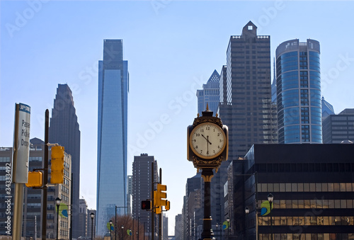 Philadelphia Skyline from 30th Street