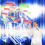 Fototapety nanotechnology