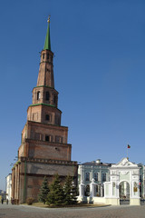 Kazan, falling tower of Syuyumbike