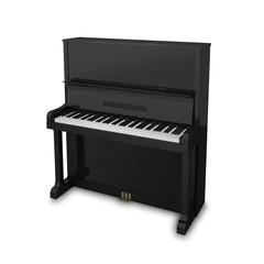 ピアノ白バック