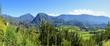 Montagnes du Cirque de Salazie, La Réunion.