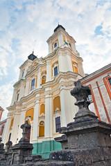 Former Jesuit College in Kremenets town (Ukraine).