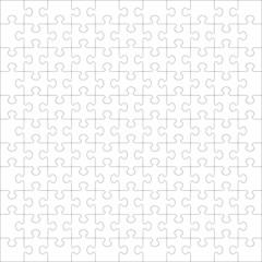 Puzzle Hintergrund, Textur, Puzzlestücke, zusammengefügt