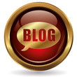 Blog - Button gold rot