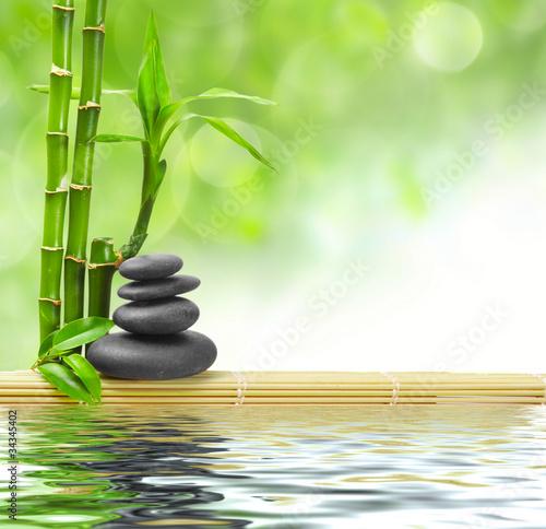Fototapeten,wasser,zen,kurort,bambus