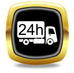 Delivery 24 hours button