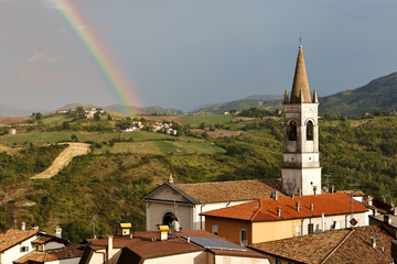 Arcobaleno in Chiesa - Rainbow in the Church