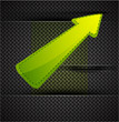 Vector arrow background