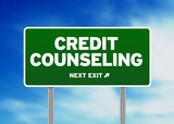 Credit Counseling Road Sign