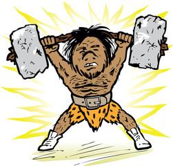 Caveman Weightlifter