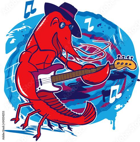Fototapeta Jazz Crawfish