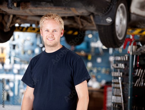 Mechanic Portrait