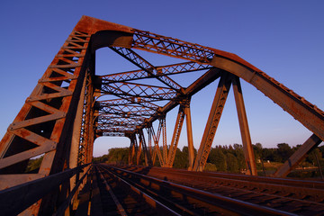 Steel Train Trestle