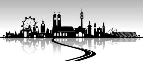 München Architektur Panorama
