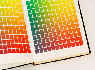 Color card printing