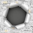 Loch, aufgerissen, Hintergrund, Webdesign, Keyword