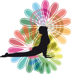 Yoga vector illustration