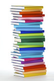 Fototapety Stack of colorful books