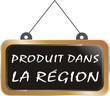 pancarte produit dans la région