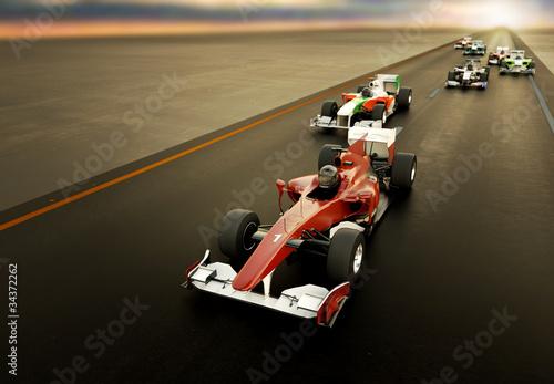 Tuinposter F1 F1 Cars