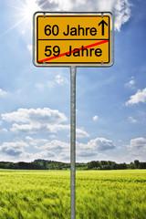 60 Jahre Geburtstag - Jubiläum