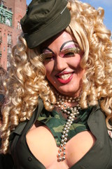 Military Drag Queen