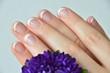 Wohl gepflegte Fingernägel