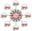 Affiliate Marketing Linked Connections of Referrals and Money